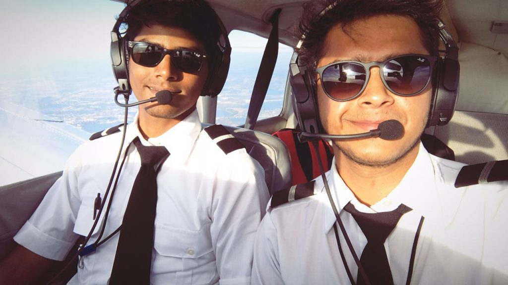 becoming a Commercial pilot.